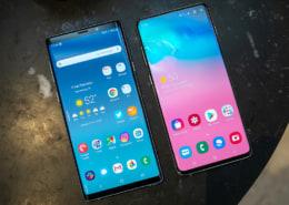 Nên chọn Samsung Note 9 hay s10+ đây anh em