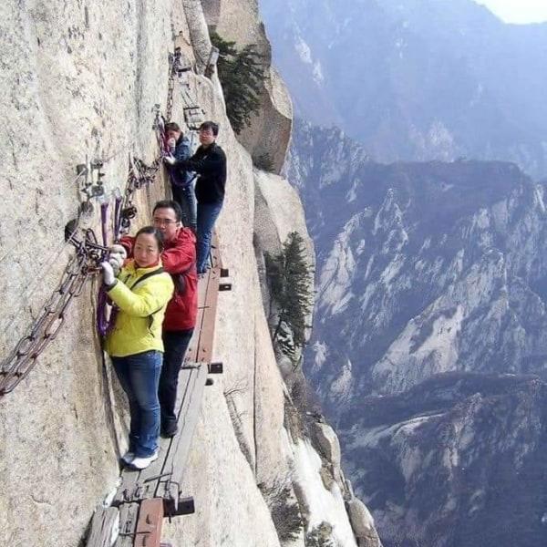 Con đường chết của núi Huashan Ai giỏi sức bền vật liệu vào tính toán xác xuất rơi rớt giúp em với