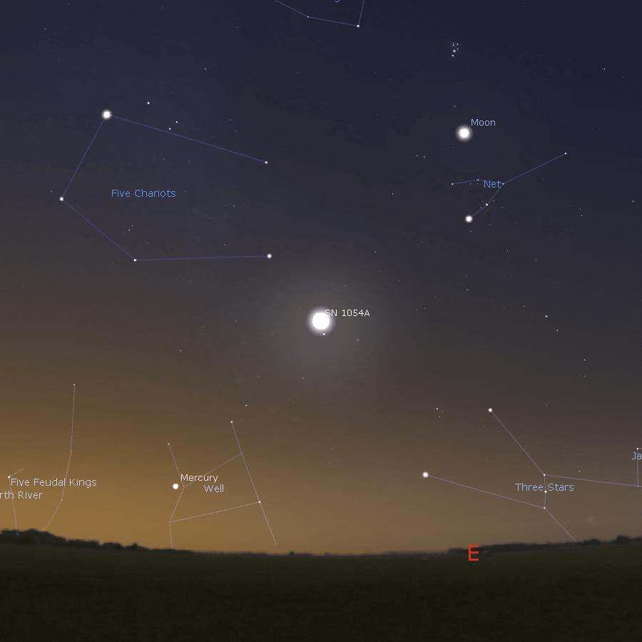 Trái đất đã ghi nhận một vật thể phát sáng mạnh xuất hiện trên bầu trời
