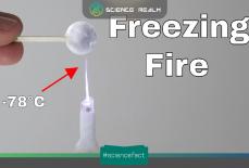 Lửa băng là gì, làm sao một ngọn lửa có thể làm lạnh và đóng băng mọi thứ?