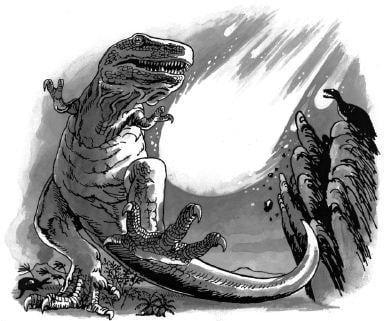 Tại sao khủng long lại bị tuyệt chủng?