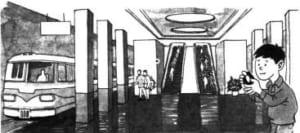Tại sao trong tàu điện ngầm lại không thu được tín hiệu máy nhắn tin?