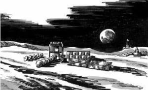 """""""Người thám hiểm Mặt trăng"""" đã tìm thấy nước trên mặt trăng như thế nào?"""