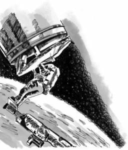Sửa chữa sự cố của các thiết bị vũ trụ trên không như thế nào?