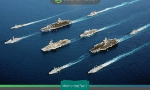 Phân loại các tàu chiến trong hạm đội hải quân ở thế chiến II và hiện đại