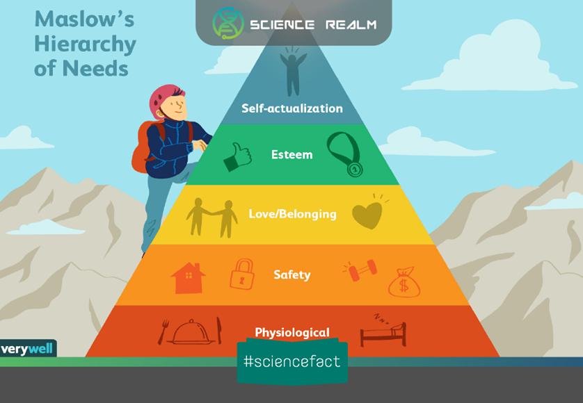 Tháp nhu cầu Maslow x - Công cụ quan trọng của người kinh doanh