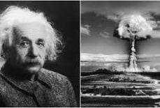 Albert Einstein có phải là cha đẻ của bom nguyên tử ?